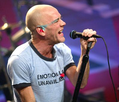 Stars and Stipes: The REM frontman furious at Trump campaign