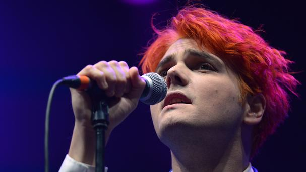 Gerard Way is lead singer of My Chemical Romance who are reissuing one of their classic albums with a previously unheard track