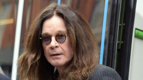 Ozzy Osbourne said he was mortified at what his behaviour had done to his family