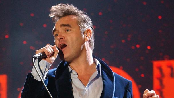 Singer Morrissey is also an animal rights supporter