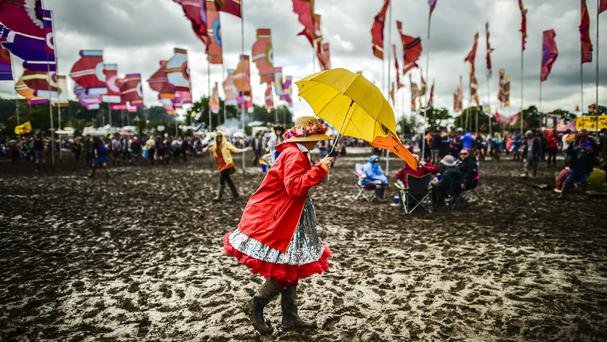 There have been a number of suspected cases picked up at popular festivals including Glastonbury, officials said