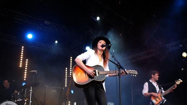 KT Tunstall was reunited with her tambourine