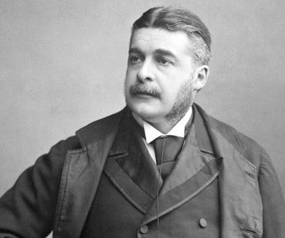 Irish ancestry: Composer Arthur Sullivan who worked with William Gilbert to produce many hit operas