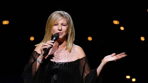 Barbra Streisand looks set to be toppled from the top of the album chart