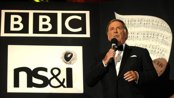 Sir Terry Wogan during the BBC Proms In The Park 2008 concert in Hyde Park, central London