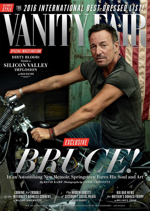 The October issue of 'Vanity Fair'