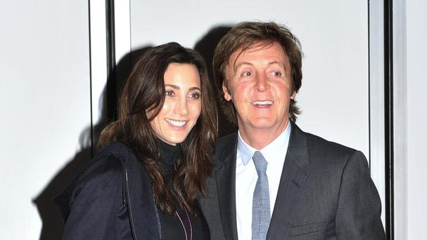 Sir Paul McCartney dedicated song My Valentine to his wife Nancy