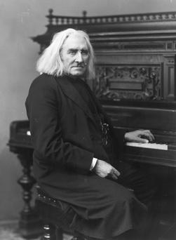 Generous: Liszt gave much of his vast wealth to charity. Getty images