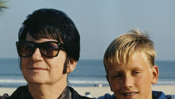 Roy Orbison with his son Alex