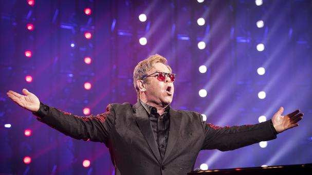 Elton John and his band will play Ireland next summer.