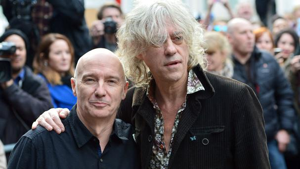 Midge Ure and Bob Geldof say Band Aid is not over, despite reports