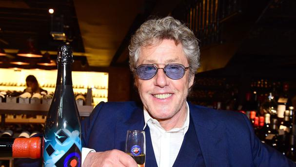 Who frontman Roger Daltrey received a Mits award