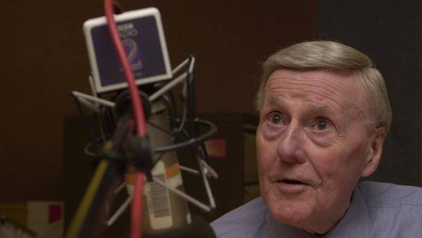 Sir Jimmy Young, the veteran broadcaster, died at his home on Monday aged 95