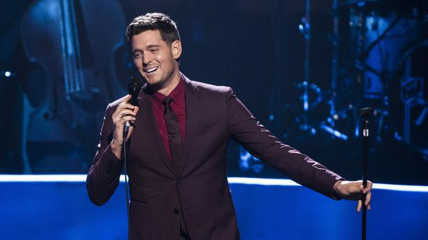Michael Buble says he and his wife have put their careers on hold to care for their cancer-stricken son