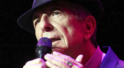 Leonard Cohen pictured performing in 2013 Photo: AP