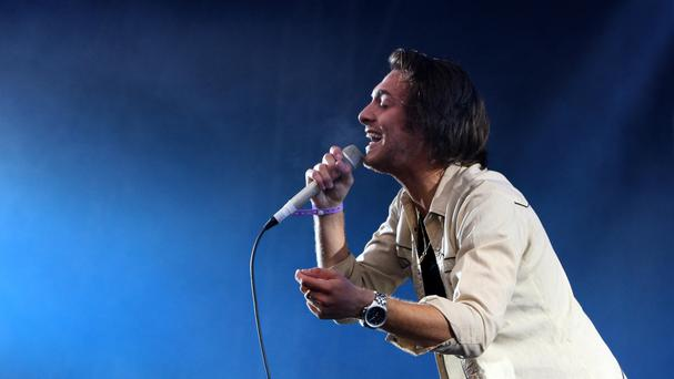 Paolo Nutini has launched a competition to find two unknown acts to perform as part of the Scottish capital's new year extravaganza