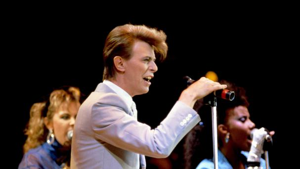 David Bowie died in January