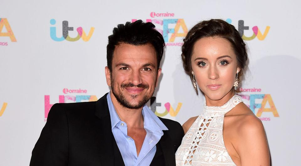 Peter Andre with his wife Emily MacDonagh were unable to attend the star-studded wedding due to prior commitments.