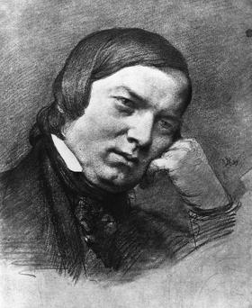 Prolific: Robert Schumann completed the concerto in three weeks