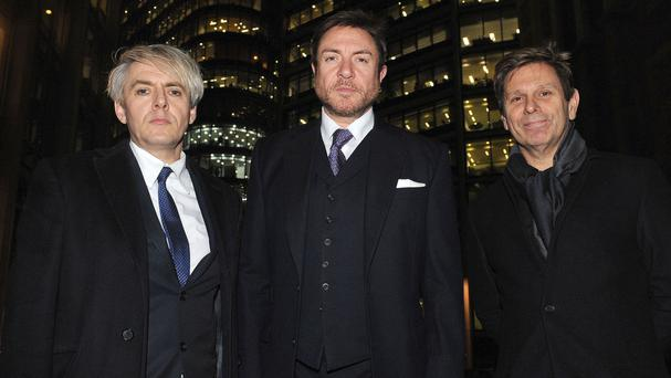 Duran Duran members Nick Rhodes, Simon Le Bon and Roger Taylor have lost their court battle