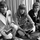 Greg Lake (left) with Keith Emerson and Carl Palmer