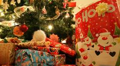 'People complain about the cost of buying presents for relatives that they probably won't like, and receiving presents they hate.' Stock image