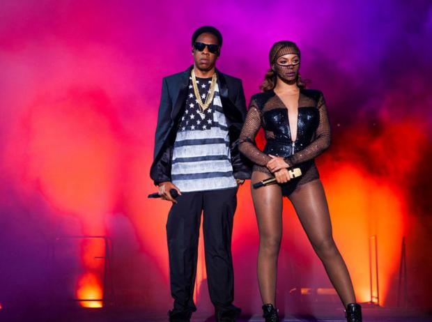 Power couple: Beyoncé' and Jay Z