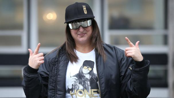 Honey G was signed by Simon Cowell's record label, Syco