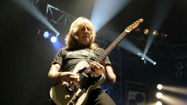 Status Quo guitarist Rick Parfitt has died aged 68 after a rock'n'roll career that spanned half a century