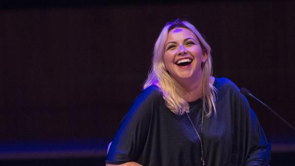 Charlotte Church made clear her disdain for the president-elect