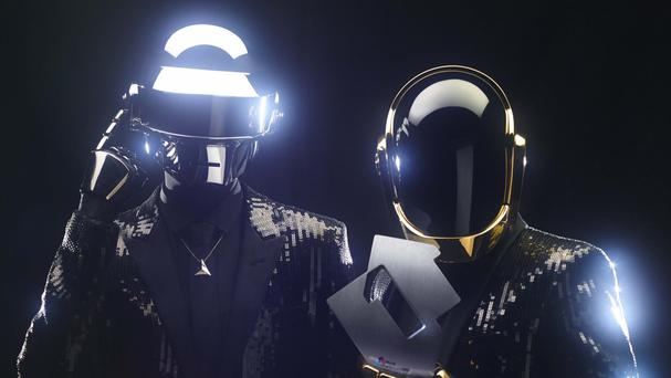 Daft Punk guested as DJs at the venue