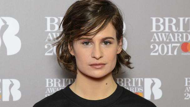 Heloise Letissier, Christine and the Queens, at the Brit Awards nominations launch