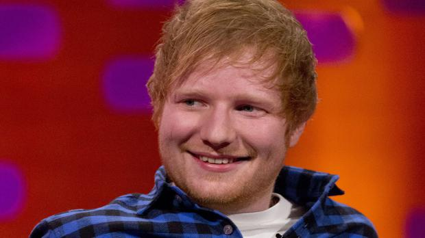 Ed Sheeran has returned with new recordings after taking a year off