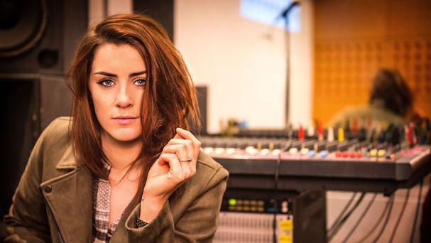 Lucie Jones has been named as Britain's entry to this year's Eurovision song contest (BBC/PA)