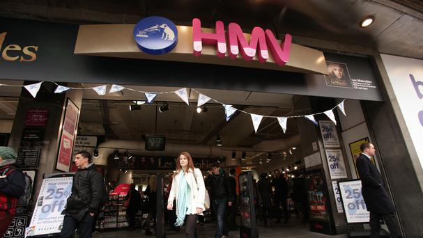 HMV's flagship store on Oxford Street could be under threat