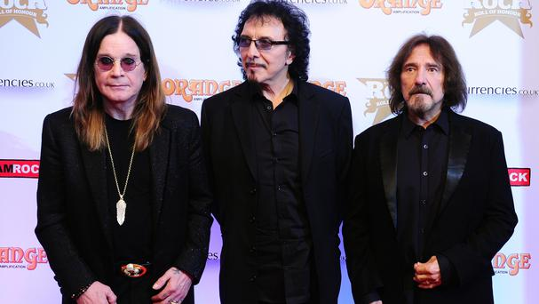 Ozzy Osbourne, Tony Iommi and Geezer Butler performed as Black Sabbath for the final time
