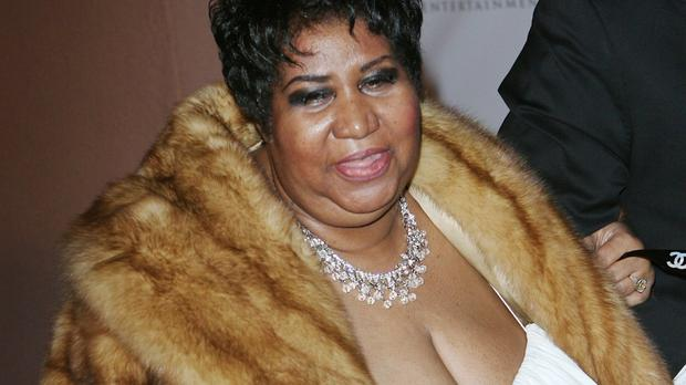 Aretha Franklin, seen here in 2013