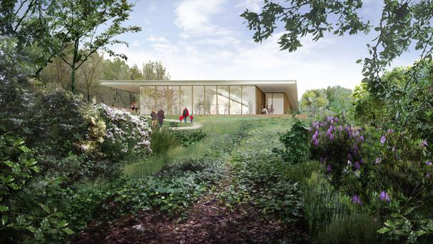 An artist's impression of plans for the redevelopment of Liverpool's Strawberry Field (The Salvation Army/PA)
