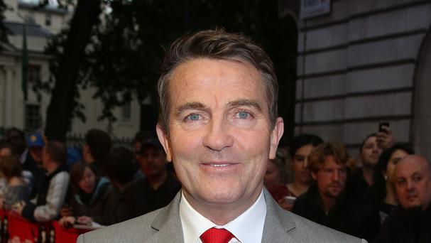Bradley Walsh was presented with a gold disc in recognition of his achievements