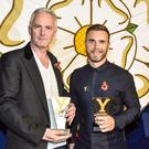 Writer Tim Firth (left) and singer Gary Barlow said the production would be a genuine British musical