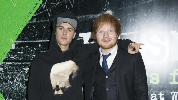 Justin Bieber and Ed Sheeran were out together in Japan