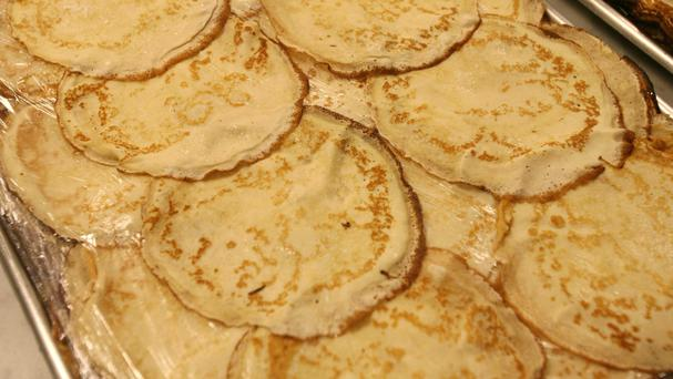 Pancakes with maple syrup are Barbra Streisand's coping mechanism for the Donald Trump era