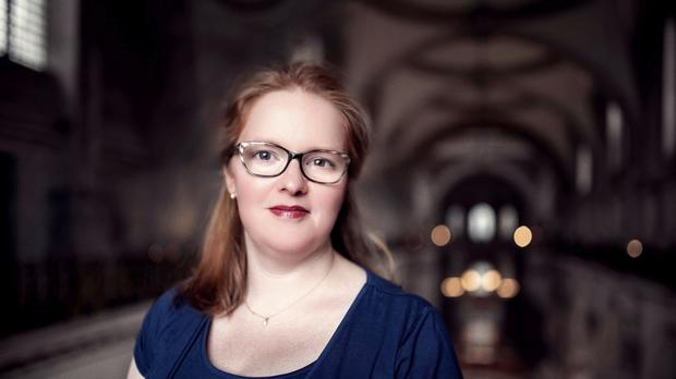 Carris Jones, 35, who is to become St Paul's Cathedral's first female chorister in its 1,000-year history. Picture: Graham Lacdao/St Paul's Cathedral