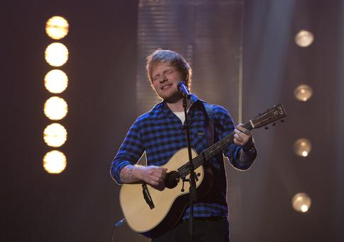 Ed Sheeran is one the most popular artists on Spotify.
