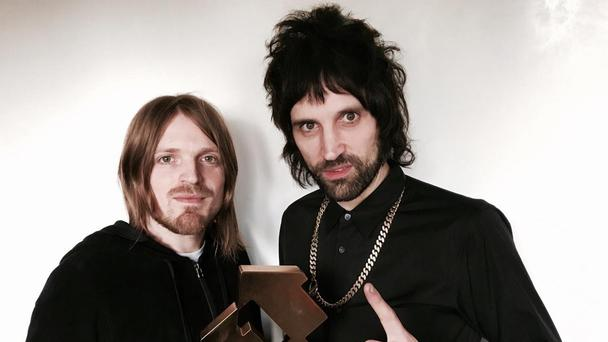 Kasabian make it five number one albums in a row