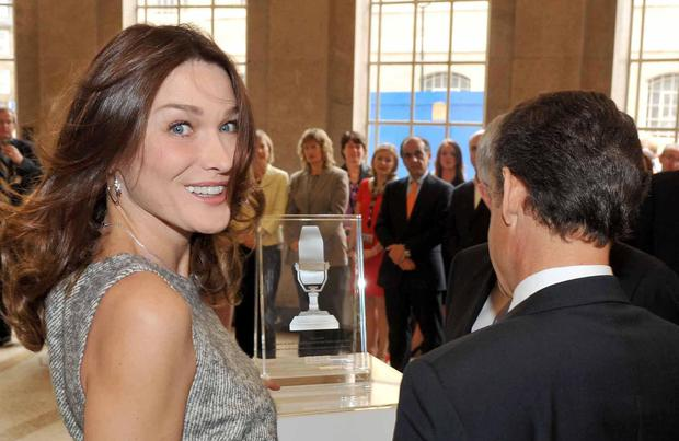 Carla Bruni Sarkozy Tells How Her Husband Saved Her From