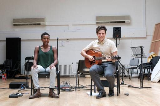 Journey of self discovery: Charlie Fink with Jade Anouka working on Cover My Tracks