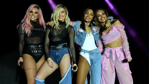 Little Mix win public vote to claim best live act prize at Silver Clef Awards (Chris J Ratcliffe/PA)