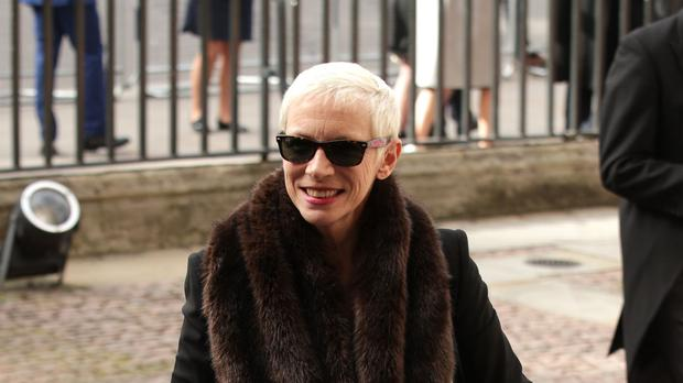 Annie Lennox received a message from a radio station's 'new music coordinator' (Yui Mok/PA)