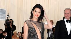 Kendall Jenner (Aurore Marechal/PA)